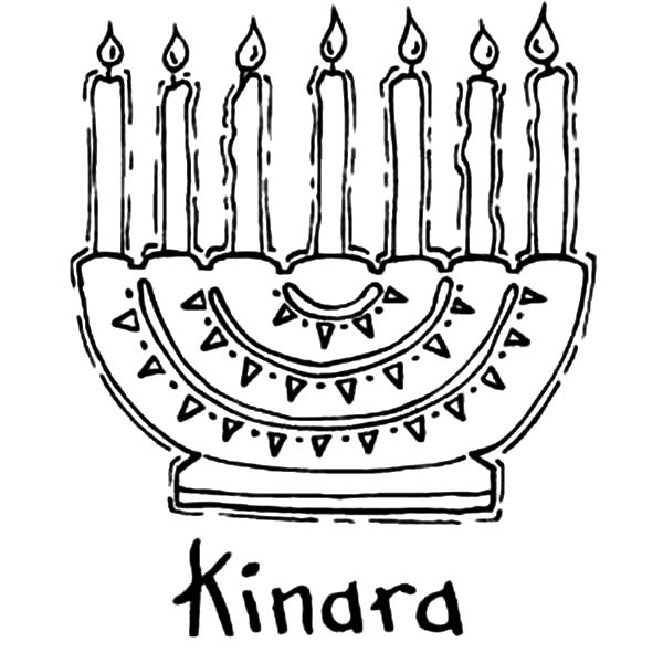 Kinara, : Kinara Coloring Pages