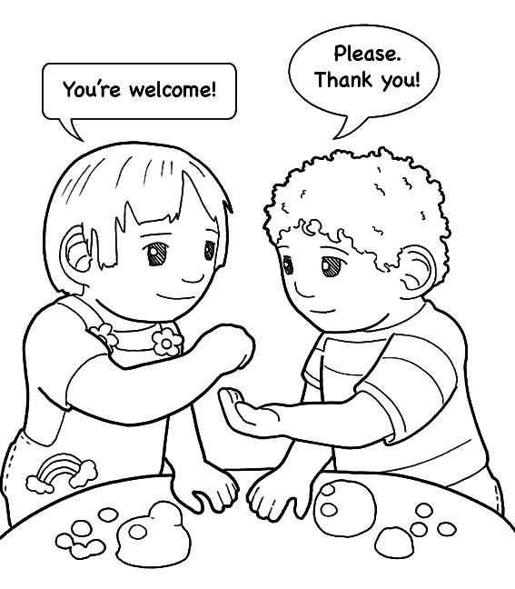 Coloring Page Kindness Kindness is Helping Friend Coloring Pages