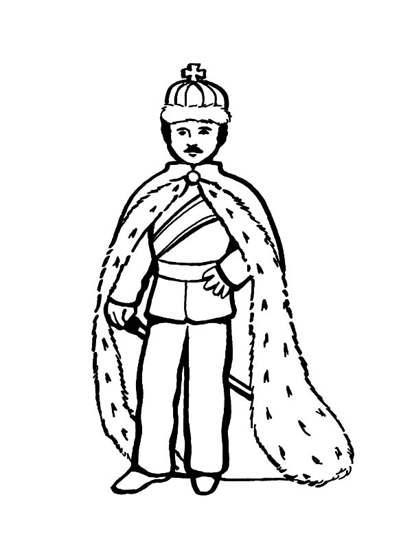 King, : King Coloring Pages