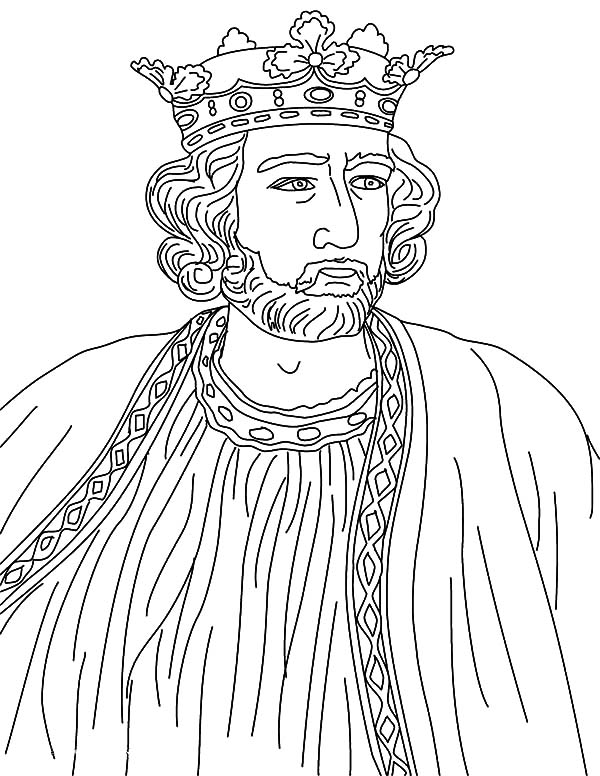 King, : King Edward Coloring Pages