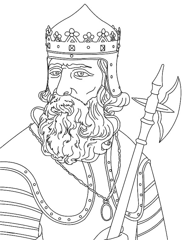 King, : King Robert the Bruce Coloring Pages
