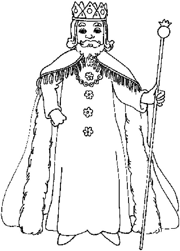 King, : King Rogers Coloring Pages
