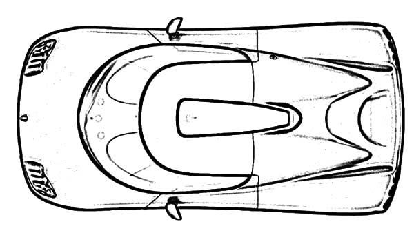 Corvette Cars, : Koenigsegg CC8S Corvette Cars Coloring Pages