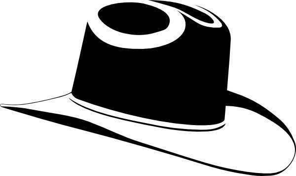 Cowboy Hat, : western looking hat