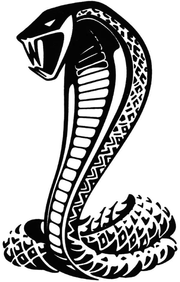 King Cobra, : Poisonous Snake King Cobra Coloring Pages