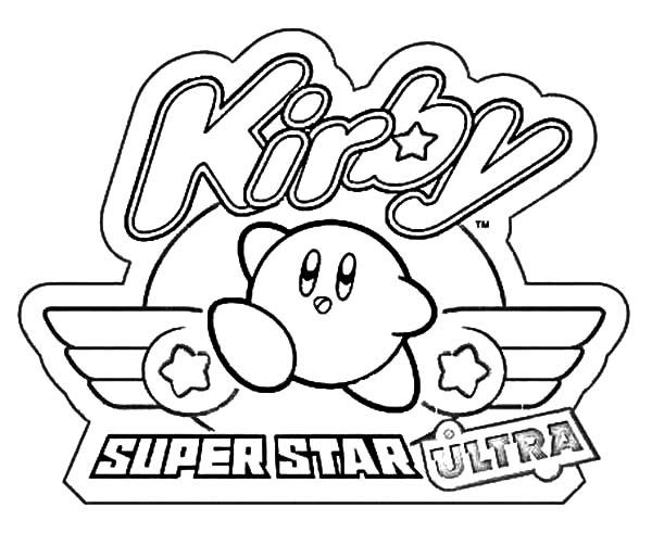 super star ultra kirby coloring pages - Kirby Coloring Pages