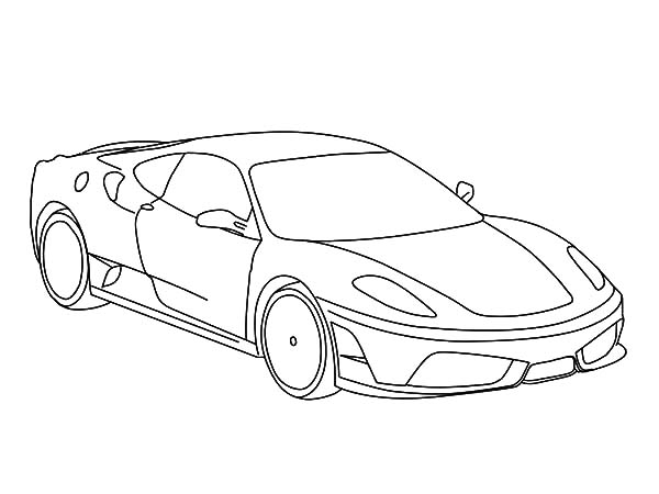 Ferrari Coloring Pages Coloringnori Coloring Pages For Kids
